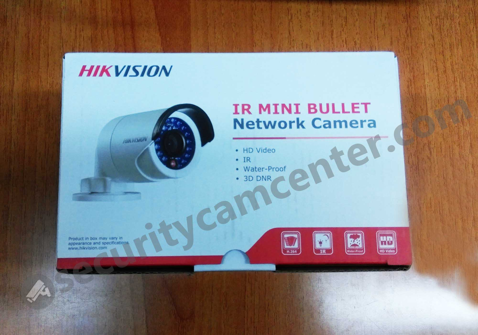 DS-2CD2042WD-I Hikvision logo box.