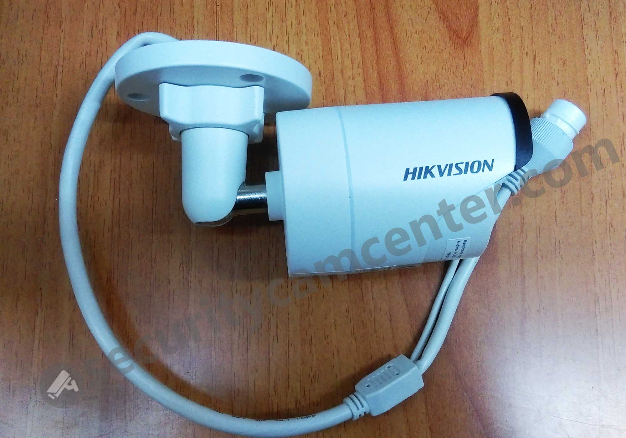 DS-2CD2042WD-I mini bullet camera. The size is relatively small.