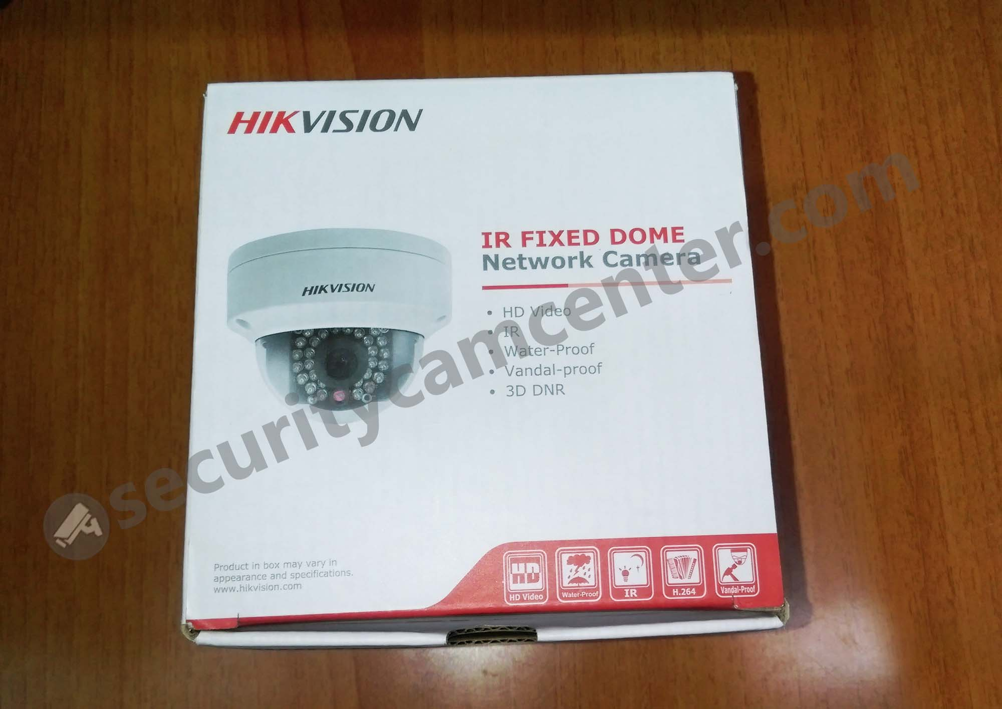 Hikvisiona retail box of DS-2CD2142FWD-IS. This the international version, which works for US market.