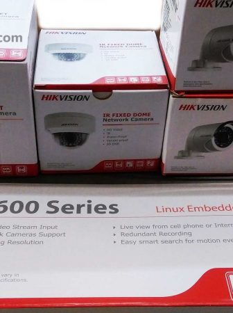 Hikvision Home Surveillance System with 4-8 cameras