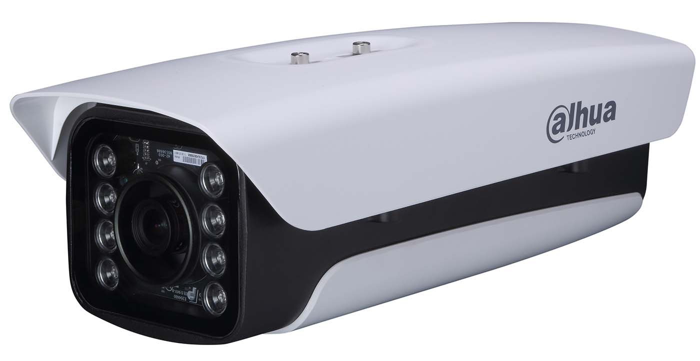 IR box-type network camera