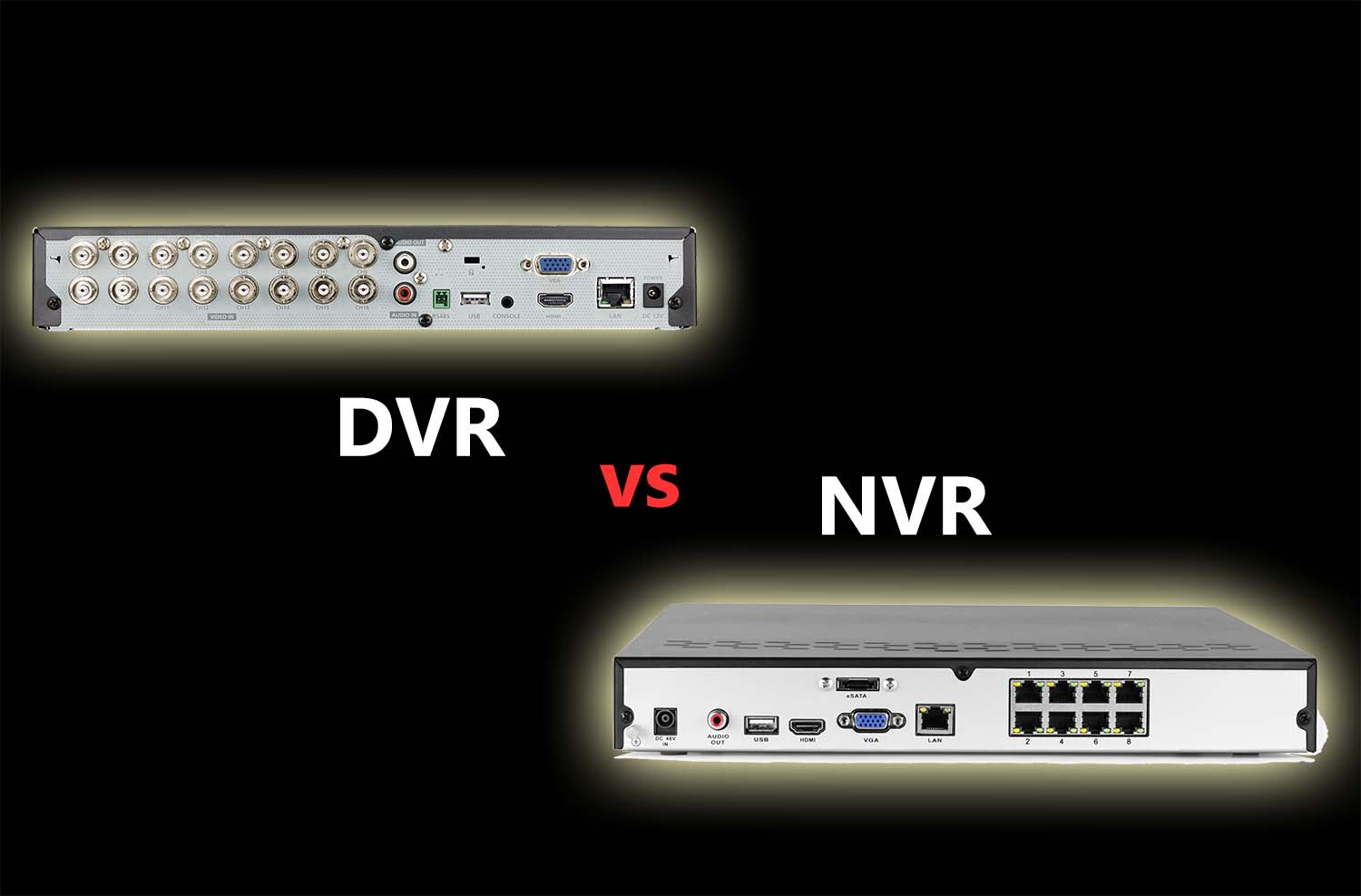 The Difference Between Nvr And Dvr Scc Cctv