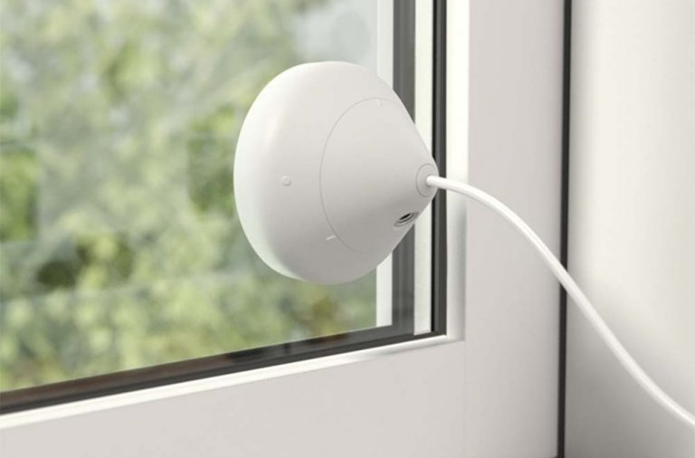 Do security cameras work through glass or behind a glass window