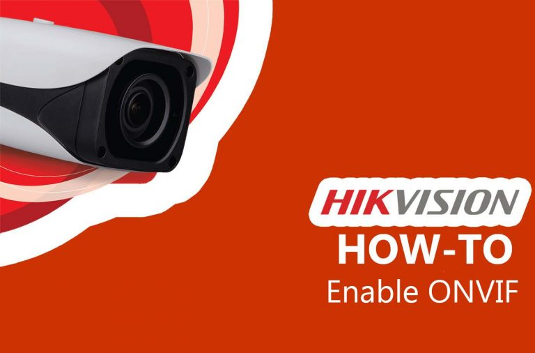 How to enable ONVIF in Hikvision cameras