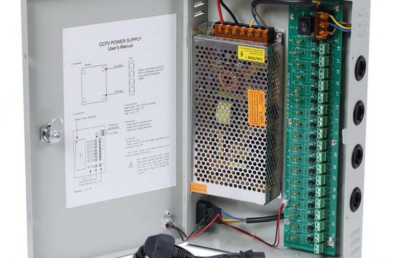Choose the correct power supply for your CCTV system